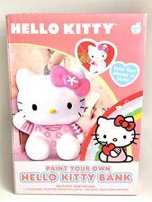 Hello Kitty Bank Paint Your Own 2011 Sanrio New Art Kit