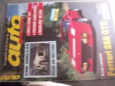 $$q Revue auto Passion N°97 Amilcar  Simca 8 Sport  GP Lyon  Ferrari 288 GTO