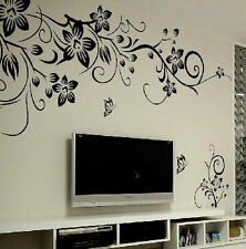 1x Flower Fad Removable Art Vinyl Quote Wall Sticker Decal Mural Room Home Decor