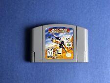 VTG Nintendo 64 Star Wars ROGUE SQUADRON One Video Game Lot 1998 N64