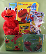 Sesame Streets Elmo Personalized CD Gift Basket - Licensed Brand Named Products