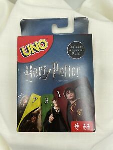 **NIB**UNO Harry Potter Card Game Mattel Special Edition with Sorting Hat Rule