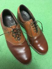 Vintage Footjoy Classics Style 51480 Tan Brown 11.5C