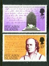 1979 Pitcairn Islands Death Anniversary John Adams - Muh Complete Set