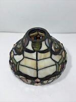 Tiffany Style Stained Glass Lamp Shade Only 8""