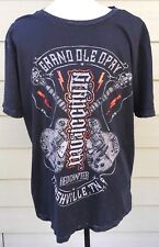 Grand Ole Opry T Shirt Country Music Red Chapter Clothing Company Large Black