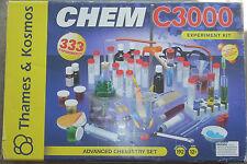 THAMES & KOSMOS C3000 CHEMISTRY KIT - N.O.S.
