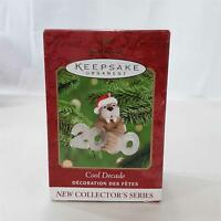 New 2000 Cool Decade Hallmark Keepsake Christmas Ornament Walrus 1st in Series