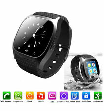 M26 Bluetooth Smart Wrist Watch Sync Phone Mate For IOS Android Phone Samsung