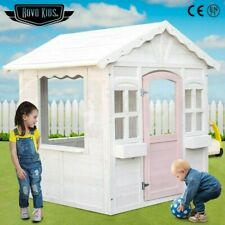 PRESALE Cubby House Wooden Outdoor Playhouse Cottage Play Children Timber