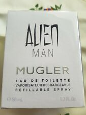 Thierry Mugler Alien MAN 50 ML EDT Nachfüllbar *NEU in Folie*