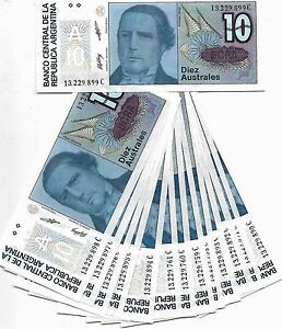 Tickets - Set 14 Tickets Argentina 3 Series Part Numbers Consecutives (8596 M)