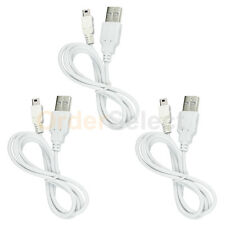 3 NEW HOT! USB Charger Cable for MP3 Sandisk Sansa Clip e130 e140 m240 m250 m260