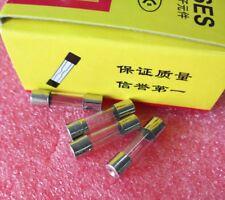50pcs Glass Tube Fuse Fast Blow 3A 3 Amp 250V 5 X 20mm 5*20 5X20MM