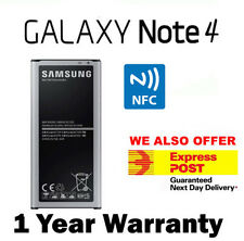 Brand New GENUINE Samsung Galaxy Note 4 N910G N9100 3220mAh Battery WITH NFC