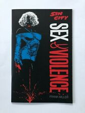 Sin City Sex & Violence Frank Miller Dark Horse Comic Book *Nm* Mo-215