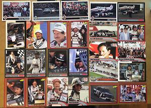 Dale Earnhardt Card Lot (25) NASCAR HOF Legend #3 Goodwrench The Intimidator