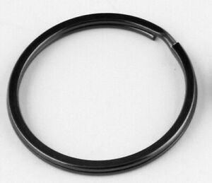 1 x 2cm/20mm Gun Metal Black Schlüsselanhänger Doppel Split Spange Connect Ring