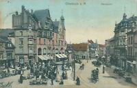 Ansichtskarte Offenbach a. M. Marktplatz 1907 (Nr.825)