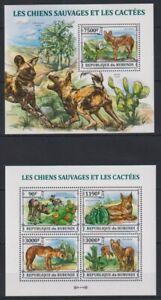 W443. Burundi - MNH - Animals - Cactusses - 2013
