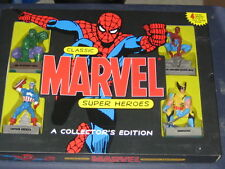 Classic Marvel Super Heroes Statues/Figurines+The Story Of Marvel Mightiest Book