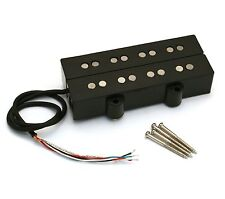 Custom Black Alnico 5 Double J Bass® Humbucker Pickup PU-DJA-B