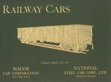 RAILWAY CARS: Steel Freight Cars 1921 Catalog No.100 Magor & National Steel Co