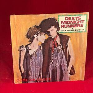 "DEXY'S MIDNIGHT RUNNERS Come On Eileen 1982 UK 7"" Vinyl Single EXCELLENT CONDITI"