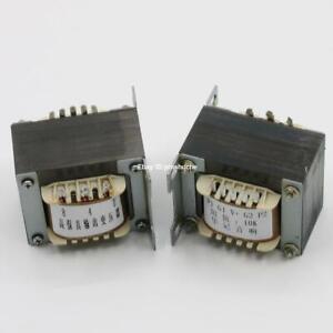1 Pair 15W Push-Pull Output Transformer 0-4-8 Ohm For EL84/6P6P/FU-32 Tube Amp