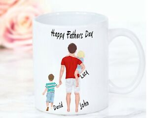 Personalised  Mug Cup Custom Design Daddy Father Family, Fathers day Mug