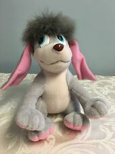 "1997 Fox Anastasia Dog POOKA Plush 12"" Applause Vintage Flappy Flapping Ears 9"""