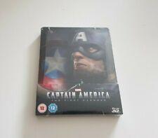 Captain America The First Avenger Blu-ray Steelbook OVP (Lenticular Zavvi)