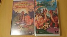 Lot of 2 Land Before Time Children's Movies VHS Tapes II&IV