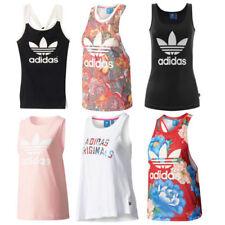Camisas y tops de mujer adidas 100% algodón