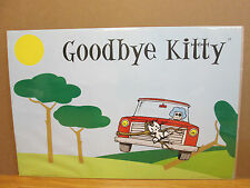 vintage 2004 Goodbye Kitty original david & goliath poster  8180