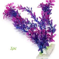 Artificia Long Purple Water Plant Grass for Fish Tank Aquarium Ornament Decor XT
