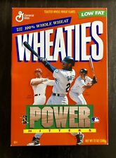 Unopened 1999 Wheaties Cereal Box - Power Hitters - MLB