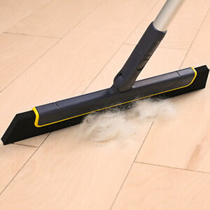 Floor Squeegee Wet Room Tile Cleaning Foam Wiper Blade Extendable Handle Broom
