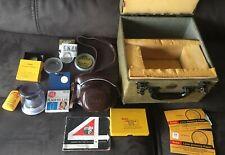 Vintage Kodak Retina Reflex IV 35mm Camera W/50MM Lens All items shown included