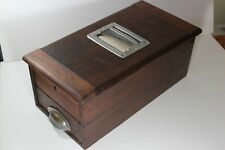 ANTIQUE WOODEN CASH REGISTER/TILL