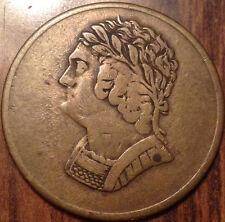 1820 BR.#1012 LOWER CANADA HALF PENNY TOKEN BUST AND HARP IN AMAZING CONDITION!!