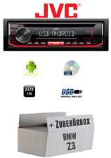 BMW Z3 - Autoradio Radio JVC KD-T402 CD MP3 USB Android - Accessori Montaggio