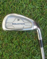 Dunlop Mens Equation Plus Golf Club 6 Iron Steel Shaft True Temper