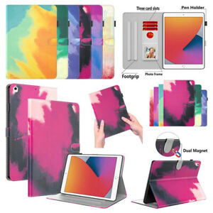 """Smart Stand Cover Colourful Leather Shockproof Case For Apple iPad 7.9"""" - 12.9"""""""
