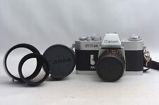 @ Ship in 24 Hrs! @ Canon EX EE Film SLR Camera + EX 50mm f1.8 & 95mm f3.5 Lens