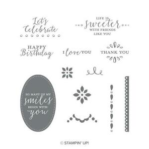Detailed With Love | Retired Clear Mount Stamp Set | Stampin' Up!