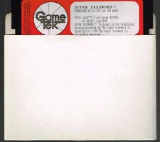 SUPER PASSWORD BY GAME TEK DISK ONLY COMMODORE 64/128 Tested Runs
