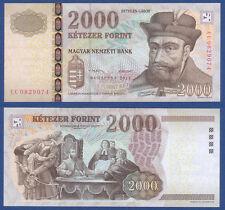 UNGARN / HUNGARY 2000 Forint 2013 aUNC  P.198 d