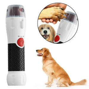 Electric Dog Cat Pliers Pet Nail Rotating File Trimmer  Claw Grooming Tool'
