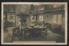 Postcard CHATTANOOGA Tennessee/TN  Fairyland Club Lobby Interior 1920's